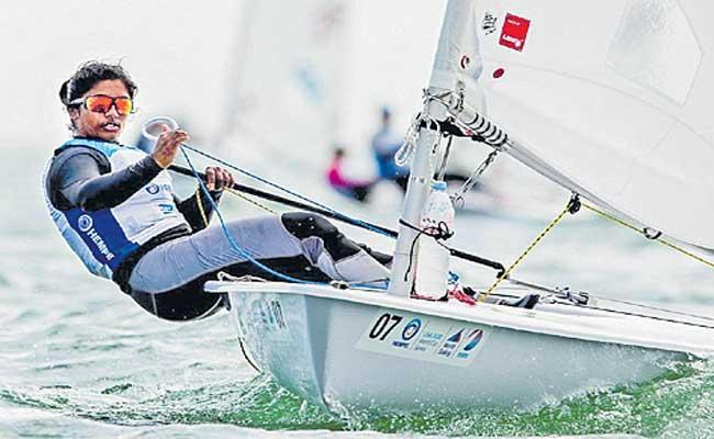 Nethra Kumanan becomes 1st Indian woman sailor to qualify for Tokyo Olympics - Sakshi