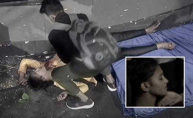 Dhee Contestant Got Head Injury On Sets Photos Viral In Social Media - Sakshi