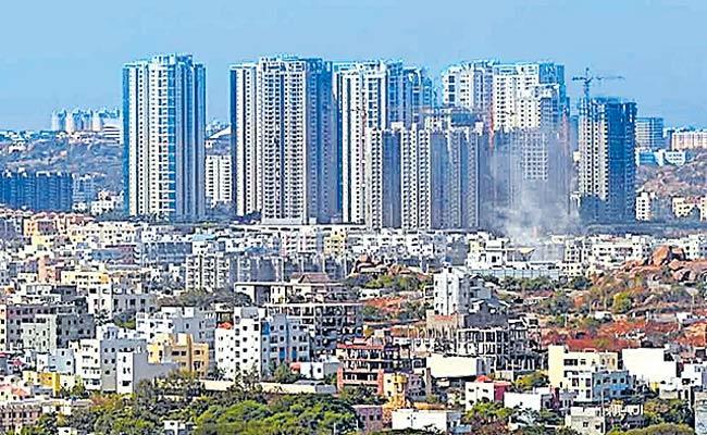 Booming Real Estate Market In Hyderabad - Sakshi