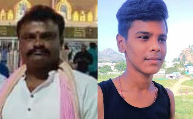 Father Son Duo Assassinated Over Clash House Dispute Karnataka - Sakshi
