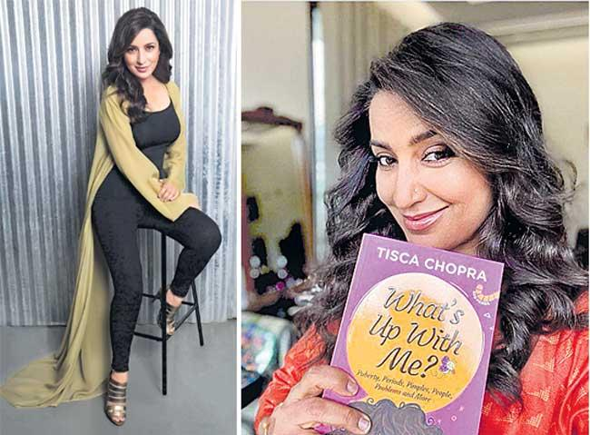 Actress Tisca Chopra on her book Whats Up With Me - Sakshi
