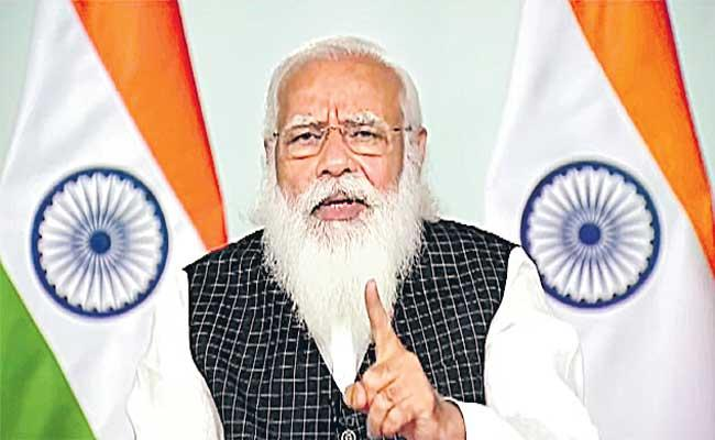 PM Modi to hold virtual meet with CMs to review Covid-19 situation - Sakshi