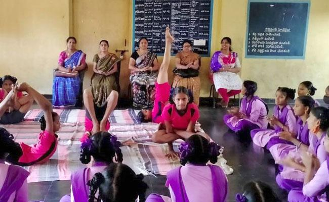 School Facilities Of KGBV In Vizianagaram Andhra Pradesh - Sakshi