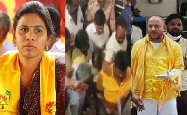 TDP Leaders Ignored Chandrababu Orders - Sakshi