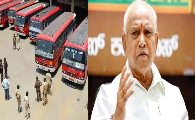KSRTC Losses Approx Rs 20 Crore Per Day Strike And Pandemic - Sakshi