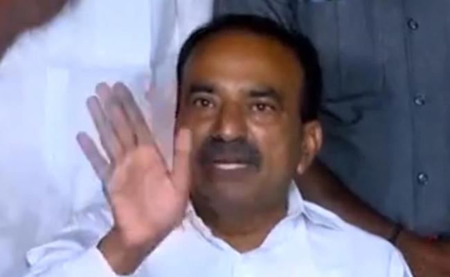 Telangana Governor Removes Etela Rajender From Health Ministry - Sakshi