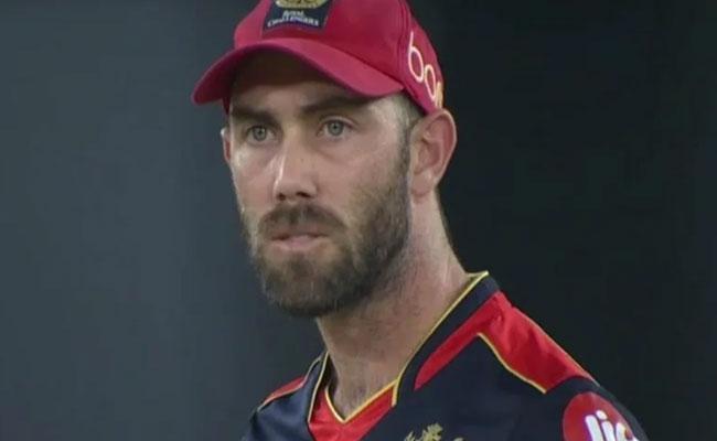 IPL 2021: Maxwell Stunned By Brar, Not Retaliate Against Punjab - Sakshi