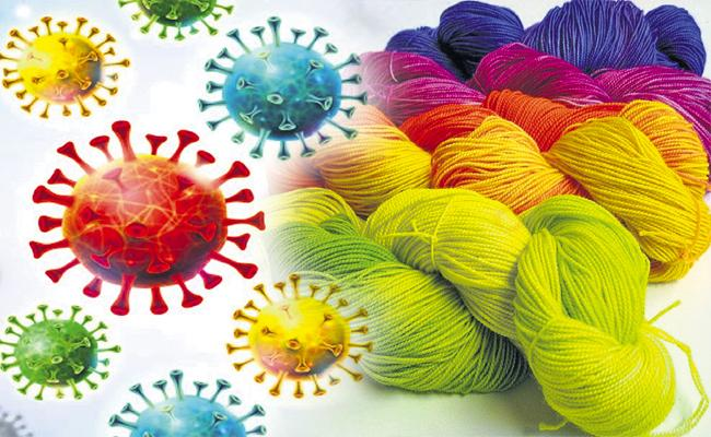 Yarn exports stopped by Corona second wave - Sakshi