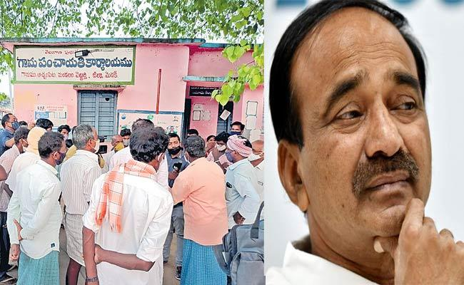 Land Scam Allegations Achampet And Hakimpet Farmers Complaint To CM KCR - Sakshi