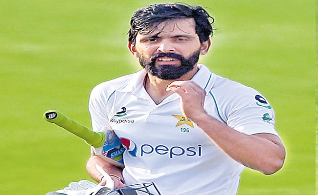 ZIM Vs PAK Fawad Alam Hit Century Helps Pakistan Leads On 2nd Day - Sakshi