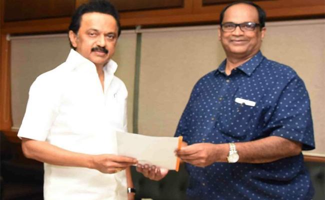 MK Stalin As The New CM Tamil Nadu Kethireddy  - Sakshi