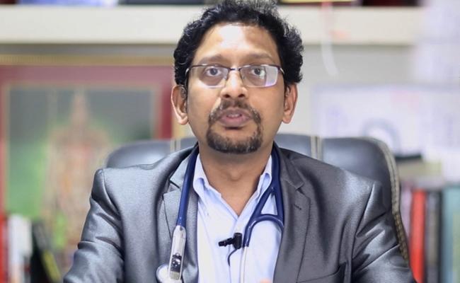 Senior Cardiologist Dr Mukherjee comments about Oxygen - Sakshi