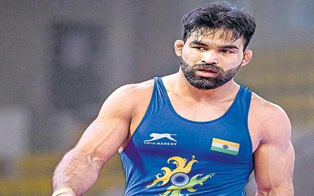India Gurpreet Singh eyes Greco Roman Olympic berth - Sakshi