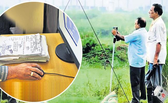 Digital surveillance on waqf lands - Sakshi