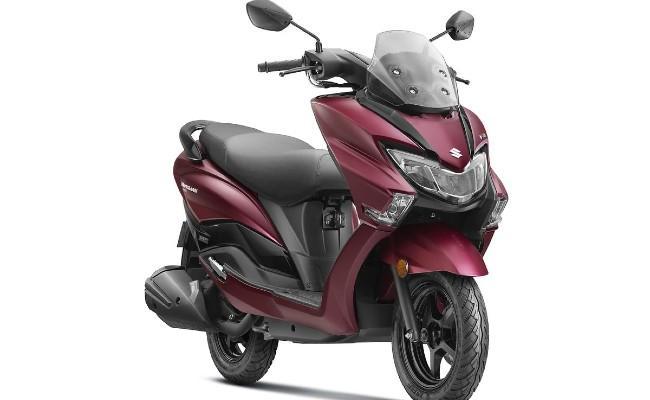 Upcoming Suzuki Burgman Street Electric Spied Up Close - Sakshi