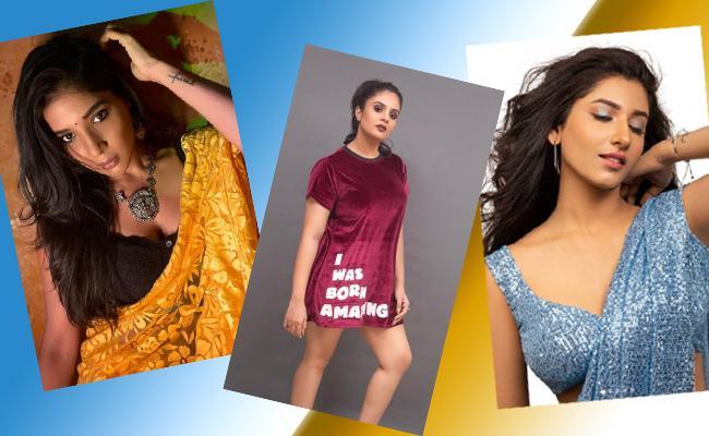 Social Hulchul: Annaya Nagalla, Sreemukhi Share Videos - Sakshi