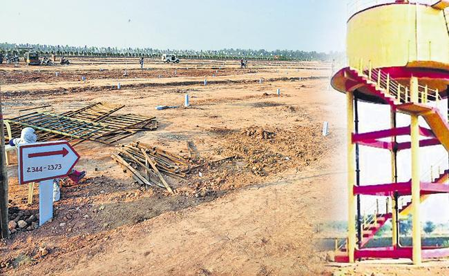 Water supply of Rs 920 crore in 8,679 lay-outs in ysr jagananna colonies - Sakshi