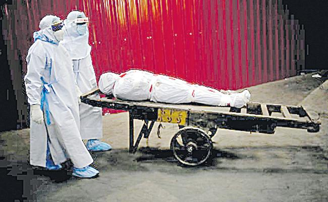 Experts: Taking Safety Measures Less Chance Of Covid Spread Through Bodies - Sakshi
