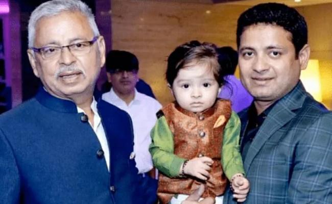 Piyush Chawla Father Passed Away Of Post Covid Complications - Sakshi