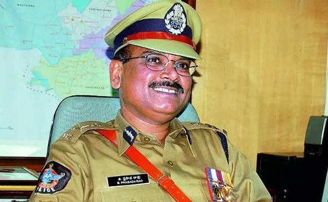 Former DGP Prasada Rao Passed Away - Sakshi