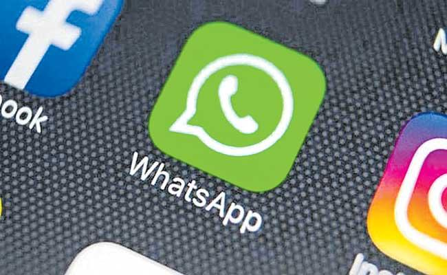 WhatsApp to not allow users to access their chat list - Sakshi