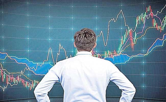 Sensex ends 296 points higher, Nifty above 14,900 points - Sakshi