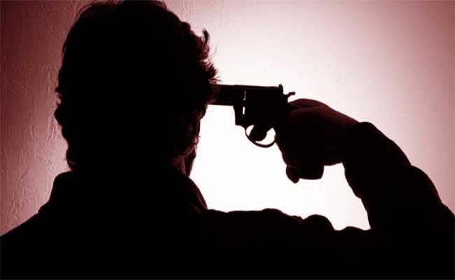 Retired Deputy Tahsildar Shoots Himself Fear Of Covid - Sakshi
