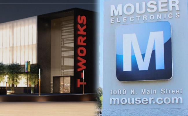 T Works and Mouser Electronics Announce Partnership: Semiconductors, Electronic Components - Sakshi