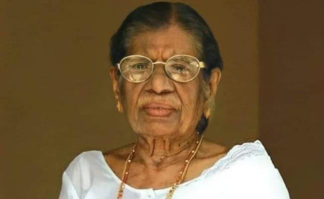 Veteran Leader KR Gouri Amma Dies: She Laid Foundation Of Modern Kerala - Sakshi