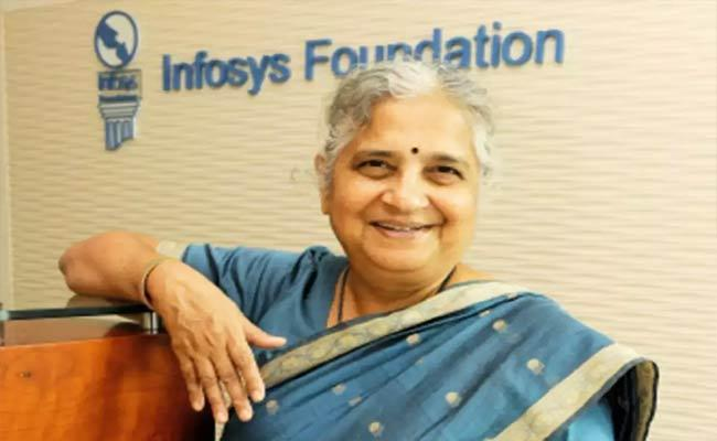 Infosys Sudha Murthy Donates Rs 100 Cr To Fight Against Covid-19 - Sakshi