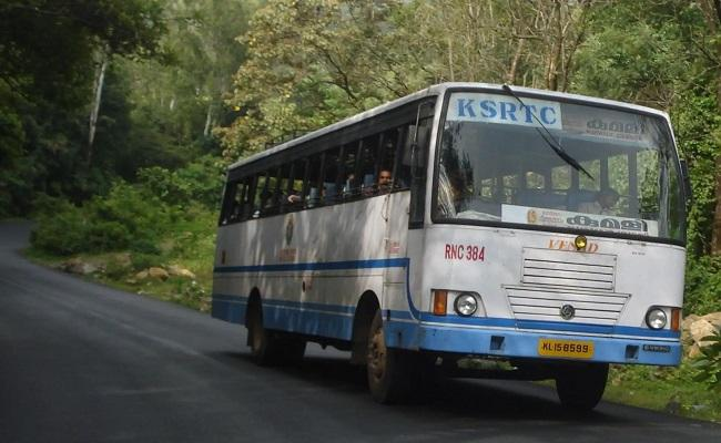 Kerala Man Steals Bus to Meet His Wife And Kid Arrested - Sakshi
