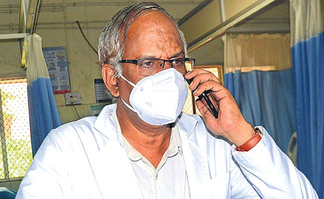 Covid 19: King Koti Hospital Superintendent Clarify People Doubts On Phone - Sakshi