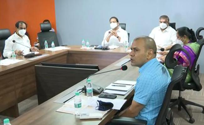 AP Cabinet Sub Committee On Coronavirus Situation And Beds And Oxygen - Sakshi