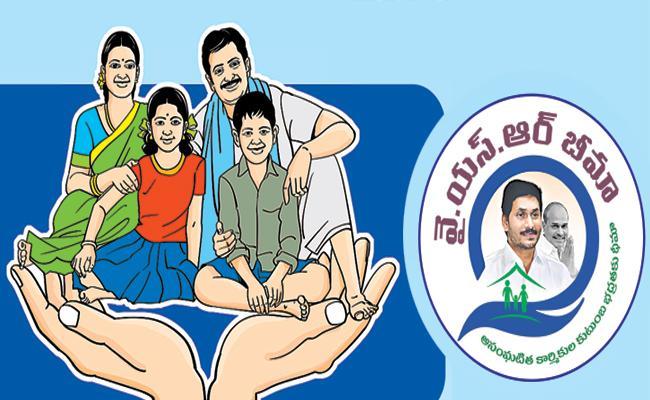 Above 35 lakh YSR Bima applications pending in banks - Sakshi