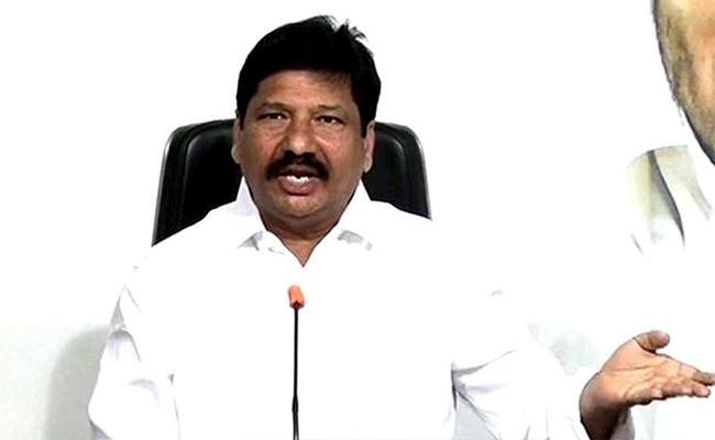 YSRCP MLA Jogi Ramesh Slams Chandrababu Over Vaccine Patent - Sakshi