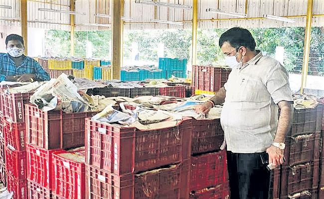 Special teams Checks at mango markets - Sakshi
