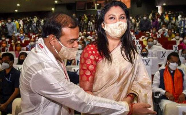 Riniki Bhuyan Sarma Shares About His Husband Himanta Biswa Sarma - Sakshi