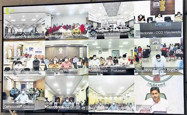CM Jagan Comments On Yellow Media False propaganda - Sakshi