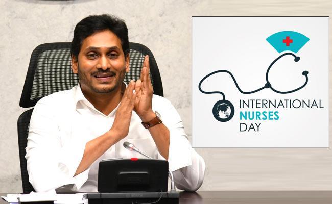 YS Jagan Thanks To Nurses On International Nurses Day - Sakshi