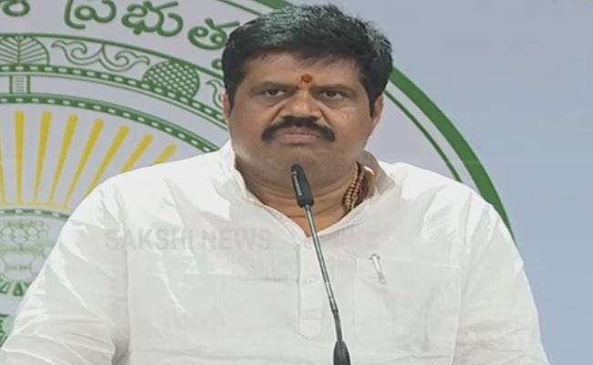 AP: Minister Avanthi Srinivas Press Meet On Covid - Sakshi