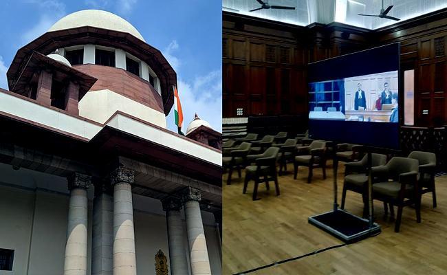 Supreme Court New App Journalists Court Proceedings Corona - Sakshi