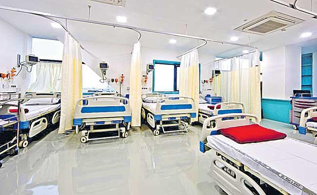 Hyderabad Fifth Place in national health infra - Sakshi