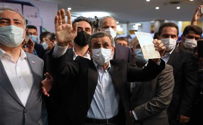 Mahmoud Ahmadinejad Registers To Run For Iran President Again - Sakshi