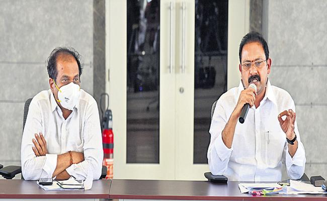 Alla Nani Comments In Ministers Committee meeting on vaccine - Sakshi