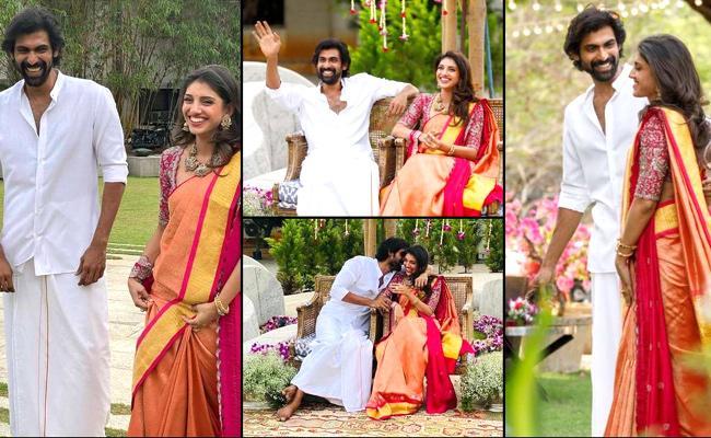 Viral: Mihika Bajaj Celebrating One Year For Saying Yes To Rana Daggubati Proposal - Sakshi