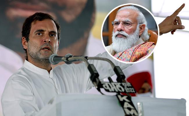 Pm Modi Missing Along Vaccines Oxygen Tweets Rahul Gandhi - Sakshi