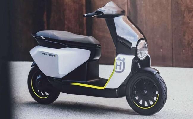 Husqvarna Vektorr Electric Scooter Concept Unveiled - Sakshi
