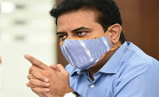 Ktr Meeting With Covid 19 Task Force - Sakshi