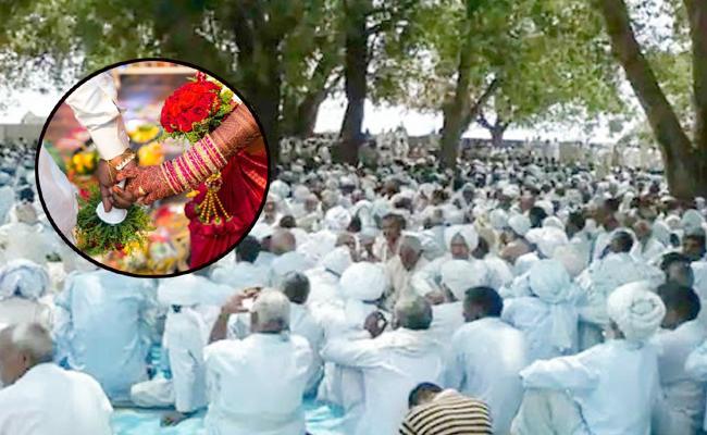 Caste Panchayat Woman Lick Spit Second Marriage Files Fir - Sakshi