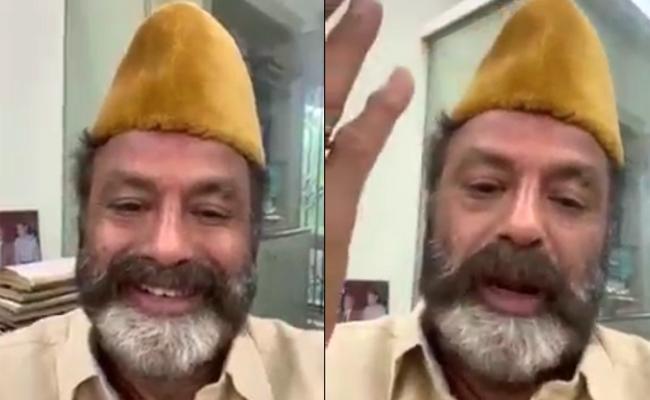 Viral: Balakrishna Shares Special Video Message For Ramzan Festival - Sakshi